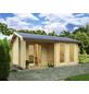 WOLFF FINNHAUS Gartenhaus »Malaga«, BxT: 596 x 450 cm, Satteldach-Thumbnail