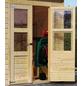 KARIBU Gartenhaus »Merseburg im Set«, B x T: 390 x 175 cm, Pultdach-Thumbnail