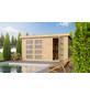 WOODFEELING Gartenhaus »Mühlentrup«, BxT: 428 x 238 cm (Aufstellmaße), Pultdach-Thumbnail