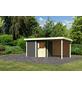 WOODFEELING Gartenhaus »Neuruppin«, BxT: 525 x 273 cm (Aufstellmaße), Flachdach-Thumbnail