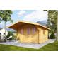 WOLFF FINNHAUS Gartenhaus »Nordkap«, BxT: 450 x 640 cm, Satteldach-Thumbnail