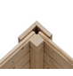 WOODFEELING Gartenhaus »Northeim 3«, B x T: 309 x 309 cm, Pultdach-Thumbnail