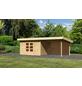 WOODFEELING Gartenhaus »Northeim«, BxT: 724 x 360 cm (Aufstellmaße), Pultdach-Thumbnail