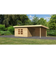WOODFEELING Gartenhaus »Northeim«, BxT: 724 x 420 cm (Aufstellmaße), Pultdach-Thumbnail