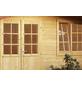 WOLFF FINNHAUS Gartenhaus »Paris«, BxT: 360 x 362 cm, Satteldach-Thumbnail