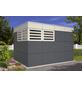 SKANHOLZ Gartenhaus »Perth 4«, BxT: 337 x 253 cm (Aufstellmaße), Flachdach-Thumbnail