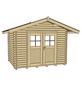 WEKA Gartenhaus »Premium45«, B x T: 300 x 280 cm, Satteldach, inkl. Fußboden-Thumbnail