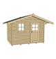 WEKA Gartenhaus »Premium45«, B x T: 380 x 320 cm, Satteldach, inkl. Fußboden-Thumbnail