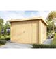 WOLFF FINNHAUS Gartenhaus »Pulti 34«, BxT: 360 x 300 cm, Pultdach-Thumbnail