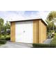 WOLFF FINNHAUS Gartenhaus »Pulti 34«, BxT: 360 x 360 cm, Pultdach-Thumbnail