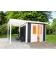 WOLFF FINNHAUS Gartenhaus »Pulti Softline«, BxT: 407 x 286 cm, Pultdach-Thumbnail