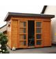 WOLFF FINNHAUS Gartenhaus »Pulti ST«, BxT: 340 x 280 cm, Pultdach-Thumbnail