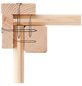 KARIBU Gartenhaus »Qubic 1«, B x T: 484 x 246 cm-Thumbnail