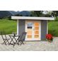 WOLFF FINNHAUS Gartenhaus »Relax«, BxT: 356 x 314 cm, Flachdach-Thumbnail