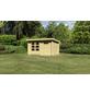 WOODFEELING Gartenhaus »Ringköbing«, BxT: 370 x 280 cm (Aufstellmaße), Pultdach-Thumbnail