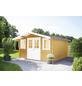 WOLFF FINNHAUS Gartenhaus »Rotterdam«, BxT: 422 x 470 cm (Aufstellmaße), Satteldach-Thumbnail