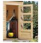 WOODFEELING Gartenhaus »Schönbuch«, BxT: 398 x 273 cm (Aufstellmaße), Flachdach-Thumbnail