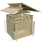 KARIBU Gartenhaus »Sensby 6«, B x T: 339 x 264 cm, Stufendach, inkl. Fußboden-Thumbnail
