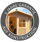 KARIBU Gartenhaus-Set, B x T: 485 x 246 cm-Thumbnail