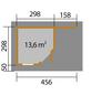 WEKA Gartenhaus-Set BxT: 501cm x 338cm-Thumbnail