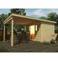 WEKA Gartenhaus-Set »Lounge mit Anbau, Gr. 4«, BxT: 529 x 338 cm (Aufstellmaße), Flachdach-Thumbnail