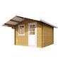 WOLFF FINNHAUS Gartenhaus »Skagen«, BxT: 360 x 395 cm, Satteldach-Thumbnail