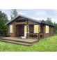 WOLFF FINNHAUS Gartenhaus »Spessart«, BxT: 637 x 927 cm (Aufstellmaße), Satteldach-Thumbnail