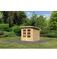 WOODFEELING Gartenhaus »Stockach 2«, BxT: 212 x 210 cm (Aufstellmaße), Pultdach-Thumbnail