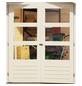 WOODFEELING Gartenhaus »Stockach 4«, BxT: 282 x 282 cm (Aufstellmaße), Pultdach-Thumbnail