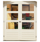WOODFEELING Gartenhaus »Stockach 4«, BxT: 282 x 282 cm, Pultdach-Thumbnail