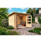 WOODFEELING Gartenhaus »Stockach«, B x T: 282 x 210 cm, Pultdach, inkl. Fußboden-Thumbnail