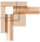 WOODFEELING Gartenhaus »Stockach«, B x T: 282 x 282 cm, Pultdach, inkl. Fußboden-Thumbnail