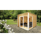 WOLFF FINNHAUS Gartenhaus »Studio 44-B«, BxT: 320 x 320 cm, Flachdach-Thumbnail