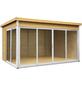 WOLFF FINNHAUS Gartenhaus »Studio 44-D«, BxT: 438 x 342 cm, Flachdach-Thumbnail