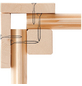 WOODFEELING Gartenhaus »Talkau 4«, BxT: 270 x 274 cm (Aufstellmaße), Satteldach-Thumbnail
