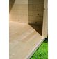 WOODFEELING Gartenhaus »Talkau«, BxT: 330 x 326 cm (Aufstellmaße), Satteldach-Thumbnail
