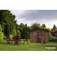 PALMAKO AS Gartenhaus »Tiago«, B x T: 340 x 338 cm, Satteldach-Thumbnail