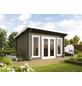 WOLFF FINNHAUS Gartenhaus »Trondheim«, BxT: 400 x 390 cm, Pultdach-Thumbnail