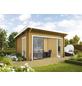 WOLFF FINNHAUS Gartenhaus »Trondheim«, BxT: 570 x 620 cm (Aufstellmaße), Pultdach-Thumbnail