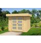 WOLFF FINNHAUS Gartenhaus »Varianta«, BxT: 290 x 310 cm (Aufstellmaße), Flachdach-Thumbnail