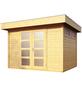 WOLFF FINNHAUS Gartenhaus »Varianta«, BxT: 340 x 310 cm (Aufstellmaße), Flachdach-Thumbnail