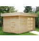 WOLFF FINNHAUS Gartenhaus »Varianta«, BxT: 440 x 300 cm (Aufstellmaße), Flachdach-Thumbnail