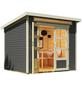 WOLFF FINNHAUS Gartenhaus »Venlo«, BxT: 265 x 236 cm, Pultdach-Thumbnail