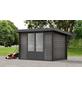 WOLFF FINNHAUS Gartenhaus »WPC-Trend«, BxT: 340 x 332 cm, Pultdach-Thumbnail