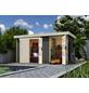 WOLFF FINNHAUS Gartenhaus »Zeeland«, BxT: 428 x 262 cm (Aufstellmaße), Pultdach-Thumbnail