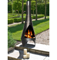 BUSCHBECK Gartenkamin »Colorado«, Ø 40 cm, Höhe: 105  cm, silberfarben/schwarz, pulverbeschichtet-Thumbnail