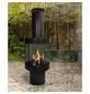 BUSCHBECK Gartenkamin »Maia«, Ø 54 cm, Höhe: 153  cm, schwarz, lackiert-Thumbnail