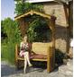 PROMADINO Gartenlaube, B x L x H: 142  x 80  x 220  cm, Kiefernholz/Baumwolle-Thumbnail