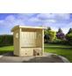 WEKA Gartenlaube, B x T: 171 x 93 cm, Tonnendach-Thumbnail