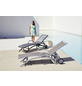 MERXX Gartenliege »Amalfi«, Gestell: Aluminium, Klappfunktion-Thumbnail